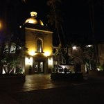 casa del mar at night