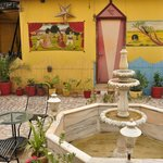 Roof top terrace & restaurant at Govind Hotel