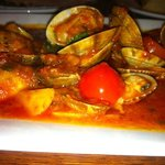 clams in red sauce