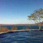 Vista desde la piscina!