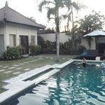 Pool area - yard