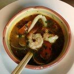 Tom Yum Goong (seafood) fantastic