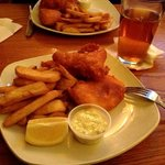 Fish & Chips, and a nice IPA
