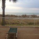 Oceanfront suite view