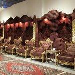 Al Jawhara Tent- Men's Reception
