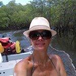 Passeio pelo manguezal - Indo em busca da lama negra.