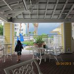 massive storm coming in. March 2013 - dining area - run