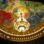 Chagall's ceiling, over the orchestra
