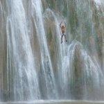 waterfall trip, local jumping!