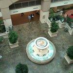 Main fountain from 5th floor