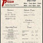 Older menu