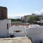 terraza vista desde el hotel de al lado