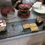 Great selection of cakes
