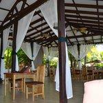 main area dining area