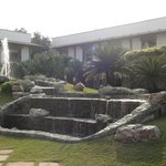 Trident Hotel in Agra (fountain)