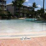wade in pool