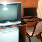 tv and computer