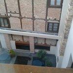 patio interior desde la habitacion