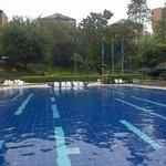 deliciosa la piscina, siempre tibiecita