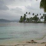 la isla con la playa