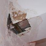 Plafond troué