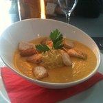 velouté de légumes de saison au curry