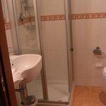 Miniatur Dusche