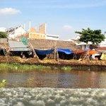 houses on the Saigon river
