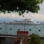 Hagnau waterfront on Lake Constance