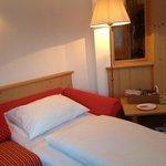 Angolino con divano letto