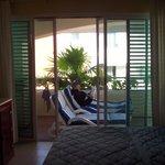 outside bedroom sliding doors