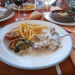 Solomillo en salsa - segundo del menú de 15 euros