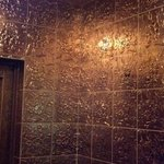 The Golden Dragon really is golden... the entry way is very cool.