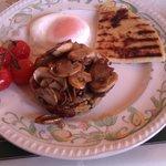 Delicious Vegetarian Breakfast