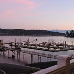 View of Sooke Harbor from The Mix by Ric's