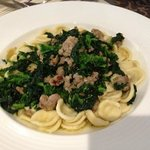 orecchiette with sausage & broccoli rabe - easy garlic is nice