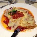 veal parmigiana is tasty