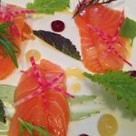 Great value and delicious salmon starter