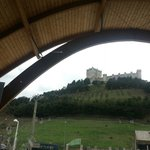 View of the Castle right next to winery