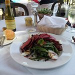 Nicoise salad - and Chardonnay