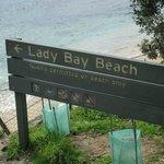 Nude Beach along walk