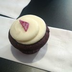 Final stop of the tour.  Red Velvet cupcake!