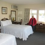 Our lovely room, Brown's Wharf Inn, Boothbay Harbor, ME
