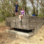 WWII bunker at Nature Preserve