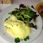 Organic Egg Omelette and Zoe's Bacon