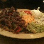 Beef Fajitas Excelente!! $8