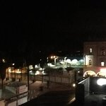 udsigt terasse aften