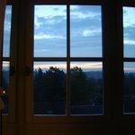 amanecer desde la habitacion Belle Epoque