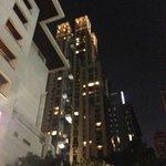 Blick auf´s Hotel