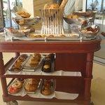 bread cart for breakfast